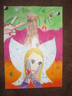 Moyles Court School Peace Poster Winner 2014 2015