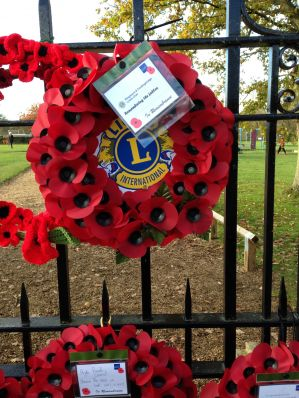 Lions Wreath at Fordingbridge