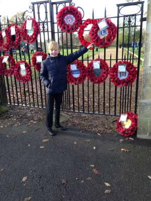 Remembrance at Fordingbridge